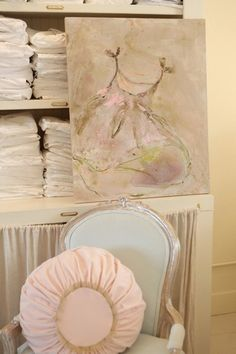 Rachel Ashwell Shabby Chic Couture Store -  painting by laurence amelie