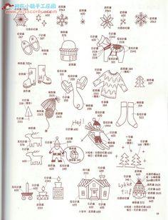 可爱小刺绣来自qyellen的图片分享-堆糖网;