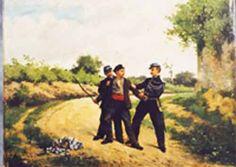 Le vagabond est l'errant, il est rarement cherchant.... ©Caserne EOGN - Melun  feuille