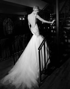 Galia Lahav Bridal Couture 2013 - also an Israeli couturier as Inbal Dror, one more breathtaking wedding collection!