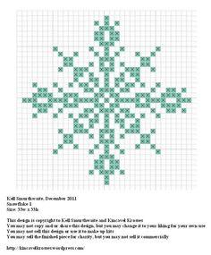 Snowflake 1 « Kincavel Krosses