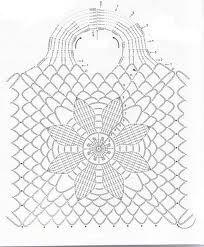 Tuto crochet- Sac facile tissé à crochet - Crochet Simple, Free Crochet Bag, Crochet Chart, Filet Crochet, Knit Crochet, Crochet Rug Patterns, Crochet Stitches, Easy Patterns, Crochet Christmas Stocking Pattern