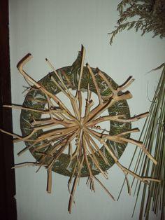 Door decoration / tree branches