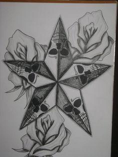 Card Tattoo Designs, Tattoo Design Drawings, Skull Tattoo Design, Skull Stencil, Tattoo Stencils, Skull Art, Dark Art Drawings, Art Drawings Sketches, Skull Drawings