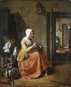 Lacemaker by Wybrand Hendriks