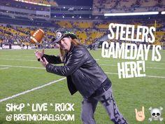It's almost time to make @Steelers @HeinzField house rock! #Yinz ready? #HereWeGo @SteelersUnite #SteelersNation #SHALIEVE @NFL #NFLPlayoffs ☠️