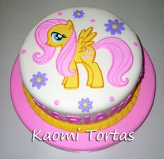 Kaomi Tortas: Torta de My Little Pony para 20 porciones