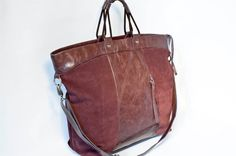leather bag mulberry by can't go naked by mirablau on Etsy, €133.00