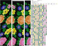 Узоры для вязаных жгутиков-шнуриков 18 | biser.info - всё о бисере и бисерном творчестве