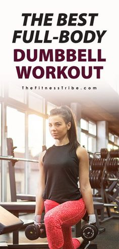 Dumbbell-Only Workouts: Exercises by Muscle Group, Whether your gym only has dumbbells or the New Year's crowd is hogging all the barbells, this dumbbell-only workout promises to provide you with a solid workout, regardless. Dumbbell exercises give you mo Fitness Workouts, At Home Workouts, Fitness Tips, Circuit Workouts, Weight Workouts, Lifting Workouts, Training Exercises, Fitness Fun, Body Workouts