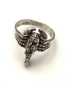 Size 6.5 Sterling Scorpion Ring
