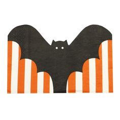 Bat Shaped Halloween Paper Napkins - Pumpkin Party - Ginger Ray