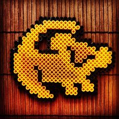 Disney - Simba The lion King perler beads by Hama Beads Design, Diy Perler Beads, Perler Bead Art, Pearler Beads, Fuse Beads, Perler Earrings, Melty Bead Patterns, Pearler Bead Patterns, Perler Patterns