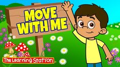 Brain Break ♫ Exercise Song for Kids ♫ Fitness Songs Kids ♫ Move with Me ♫ The Learning Station Sports Activities For Kids, Kids Sports, Classroom Activities, Action Songs For Children, Kids Songs With Actions, Learning Stations, Kids Learning, Zumba Kids, Movement Songs