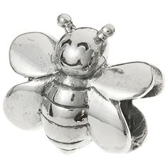 925 Sterling Silver Honey Humble Bee Hornet Bead For European Charm Bracelet ** Read more reviews of the product by visiting the link on the image.-It is an affiliate link to Amazon.
