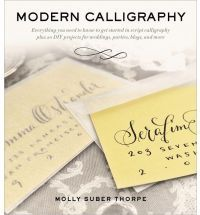 Modern Calligraphy: Everything You Need to Know to Get Started in Script Calligraphy 18 euro's at Book depository + free shipping