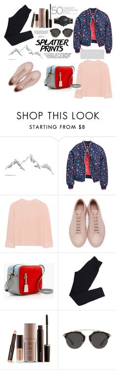 """""""Jan, 28th 2017"""" by namiraditra ❤ liked on Polyvore featuring iHeart, Common Projects, J.Crew, Wolford, Laura Mercier, xO Design, Christian Dior and South Lane"""