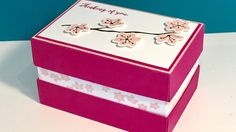 Colorful Seasons Recessed Gift Box - Video Tutorial - New Catalogue Week