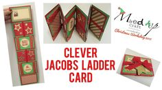 Christmas Workshop project number 4 Clever Jacobs Ladder Card These genius creations have always had me fascinated, the simple way the ribbon is wrapped creates a fun and clever toy or in this case… Fancy Fold Cards, Folded Cards, Waterfall Cards, Jacob's Ladder, Interactive Cards, Card Box Wedding, Diy Wedding, Wedding Favors, Jingle All The Way