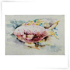 Cooper Classics Red Fish Canvas Wall Art