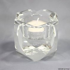 Things Engraved is Canada's premier source for custom engraved gifts to help celebrate in style. Engraved Wedding Gifts, Engraved Gifts, Wedding Favors, Candle Jars, Candle Holders, Candles, Customized Gifts, Personalized Gifts, Tea Light Holder