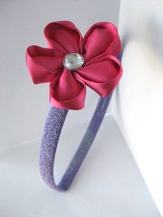 Doc McStuffins Fabric Flower Headband.