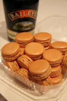 Irish Cream (Baileys) Macarons