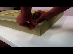 HOW TO MAKE AN ACOUSTIC PANEL (M-PHAZES TUTORIAL) - YouTube