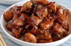 Chicken teriyaki / Frango teriyaki One of the best chicken dishes I've made! Slow Cooker Recipes, Crockpot Recipes, Chicken Recipes, Cooking Recipes, Recipe Chicken, Rice Recipes, Potato Recipes, Casserole Recipes, Cooking Tips