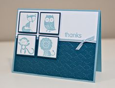 Scrap Yard Cards: Baby Boy - Birth Announcement & Thank You Cards