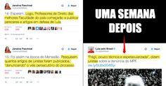 """Conforme alertado por Janaina Paschoal, começam a surgir """"juristas"""" defendendo…"""