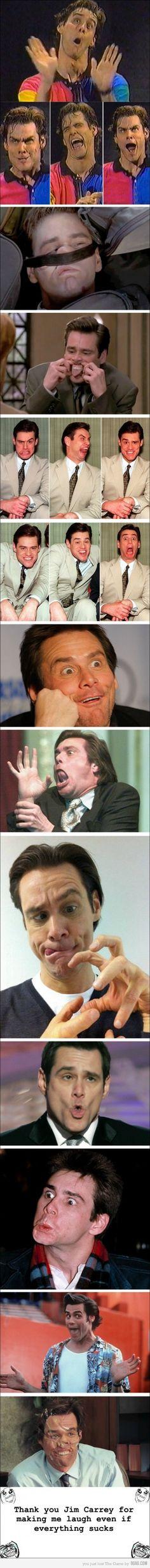 Jim Carrey Emotions