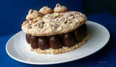 Tort ADI cu ciocolata, alune si fructe de padure | Pleziruri Something Sweet, Muffin, Mousse, Food And Drink, Sweets, Breakfast, Creative, Bohemia, Pie