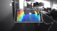 google introduces project tango, a smartphone that creates 3D environments