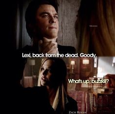 """TVD  """"162 Candles"""" 1x8 - Lexi: I´m older than you, which means that I´m stronger than you!"""