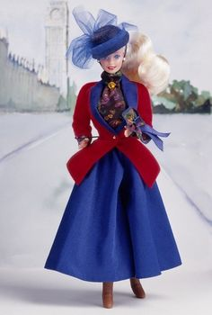 Collection Barbie Dolls of the World | English-Barbie-Doll-1992-barbie-dolls-of-the-world-C2-AE-collection ...
