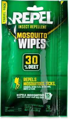 Repel Sportsmen Insect Repellent Wipes - 30 Percent DEET - Package of 15 Santa Teresa Costa Rica, Mosquito Protection, Living In Costa Rica, Destination Wedding Welcome Bag, Costa Rica Travel, Garden Guide, Insect Repellent, Pest Control, How To Stay Healthy