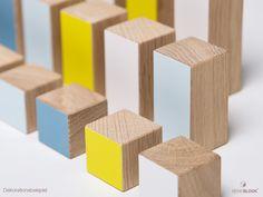 Holzspielzeug - Bauklötze :: BENE BLOCK :: Eiche Massivholz - ein Designerstück von StudioBlock bei DaWanda