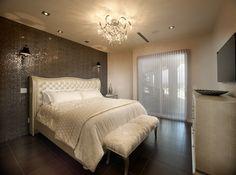 old hollywood glam bedroom | Vegas Views - Glamour Bedroom Suite - Las Vegas luxury home rental