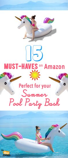 15 Must-Haves on Amazon Perfect for Your Summer Pool Party Bash