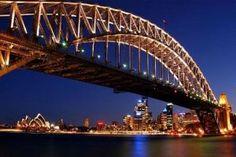 Climb the Sydney Harbor Bridge (Australia) Harbor Bridge, Around The World In 80 Days, Around The Worlds, Beautiful Places To Visit, Places To See, Famous Monuments, Permanent Vacation, Sydney Australia
