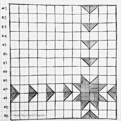 A Free Sawtooth Sunburst Quilt Top Pattern - Simple Simon and Company
