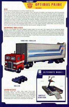 Transformers Universe - Gallery: G1 Optimus Prime