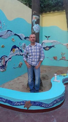 Ricardo Stefani. Mosaic Art. Mosaic Art, Mosaics, Sea, Murals, Artists, The Ocean, Ocean, Mosaic