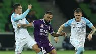 """We just weren't good enough,"" says TIM CAHILL. Report from Michael Lynch. #ALeaguefinals #MCYvPER"