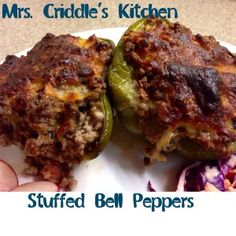 Stuffed Bell Peppers - Mrs. Criddles Kitchen- S dinner Trim Healthy Mama