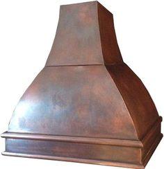 Custom cooker copper range hood. #mycustommade #rangehood #venthood