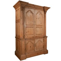 Pine Wardrobe, Wardrobe Closet, Armoire, China Cabinet, Vintage Furniture, Tall Cabinet Storage, The Originals, Antiques, Gallery