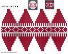 Knitting Patterns Christmas created using Schachenmayr Designer by Pawel Dolatowski Knit Christmas Ornaments, Beaded Ornaments, Christmas Toys, Christmas Knitting, Plastic Canvas Ornaments, Plastic Canvas Christmas, Plastic Canvas Patterns, Knitting Charts, Knitting Patterns