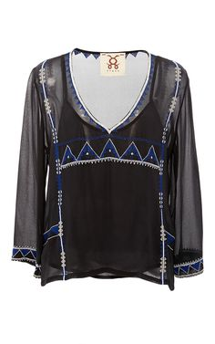 FIGUE Gianna Beaded Top. #figue #cloth #top